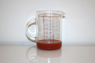 09 - Zutat Tomatensaft / Ingredient tomato juice