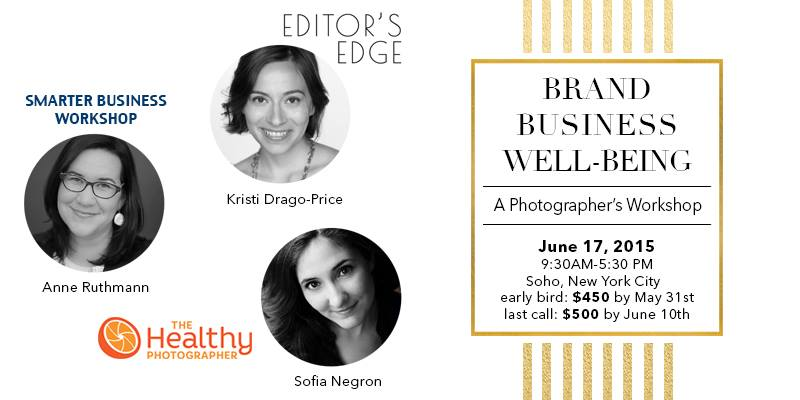 Brand Business Well-being Workshop for Photographers