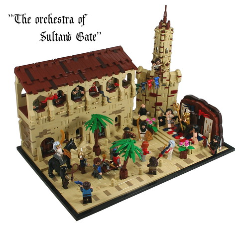 The orchestra of Sultan's Gate
