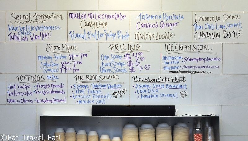 Humphry Slocombe Ice Cream (Ferry Building Marketplace)- San Francisco, CA: