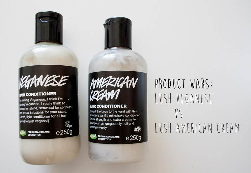 Product wars: LUSH Veganese vs LUSH American Cream