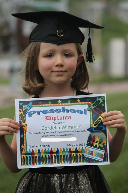 Cordelia's  graduation
