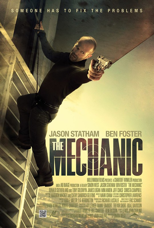 The Mechanic - 2011 - Poster 2