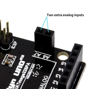 Uno R3 Extra Analog Inputs
