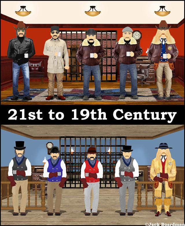 21st to 19th Century ©Jack Boardman