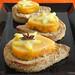 Dessert épicé aux abricots