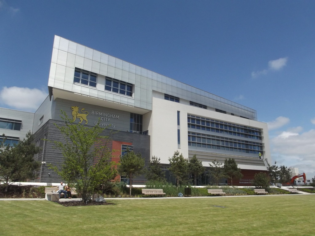 Birmingham University Parkside Building