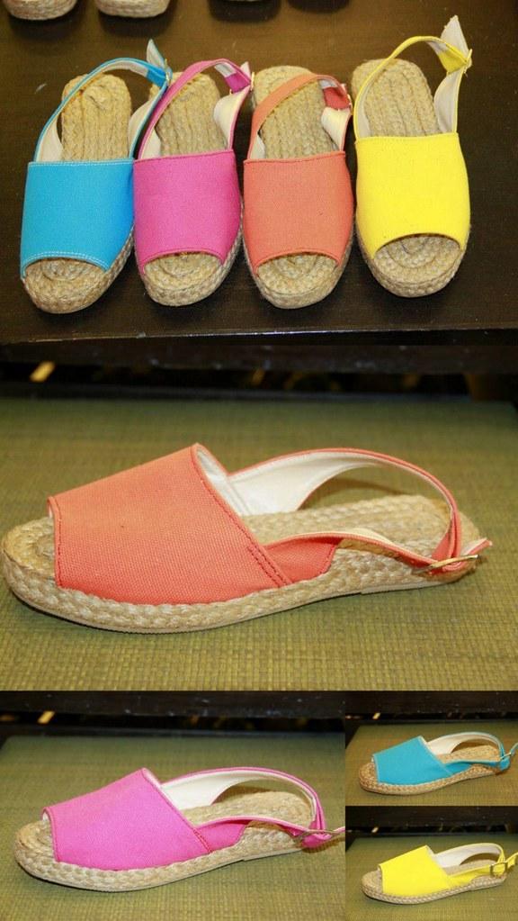 Womens Shoes Taken Off