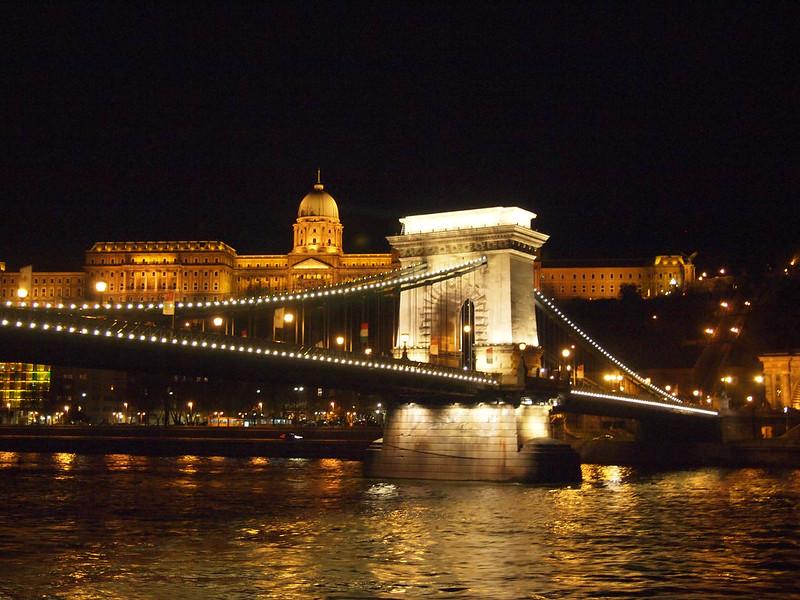Budapest illuminated