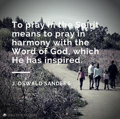 To pray in the Spirit
