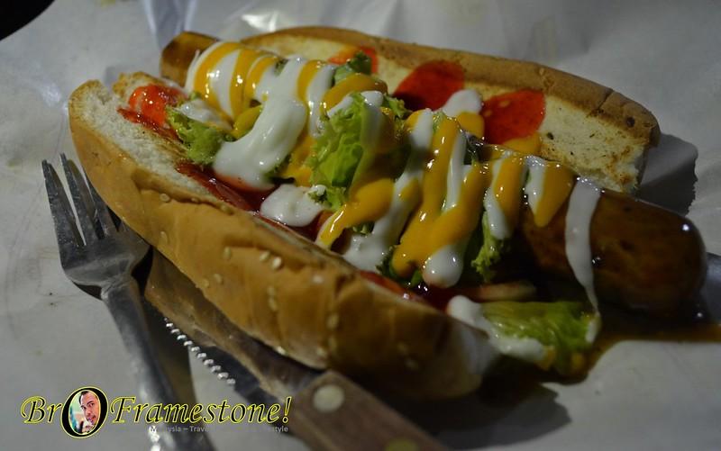 Hotdog Jumbo - A&J Burger Grill, Sungai Buloh