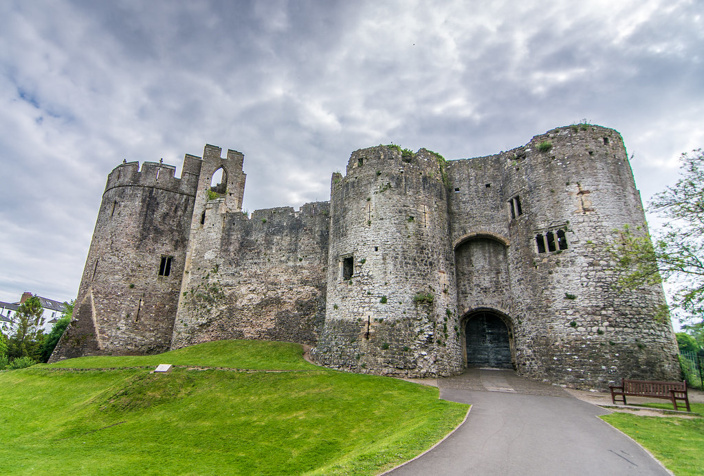 Castle Photography Chepstow Chepstow Castle | by