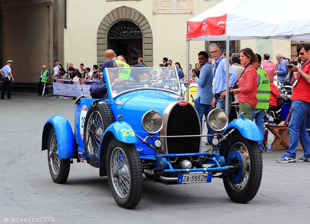 1927 Bugatti T 40 Gran Sport Cristina Riccardo Baroli