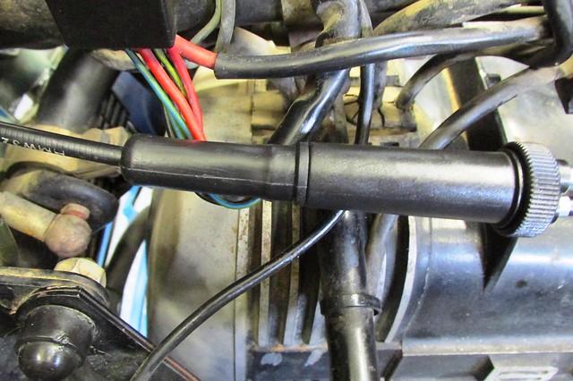 Assembled Choke Bowden Cable