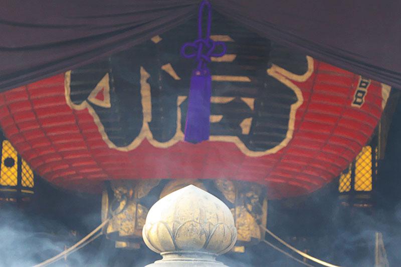 浅草寺ほうずき市 浅草寺境内提灯