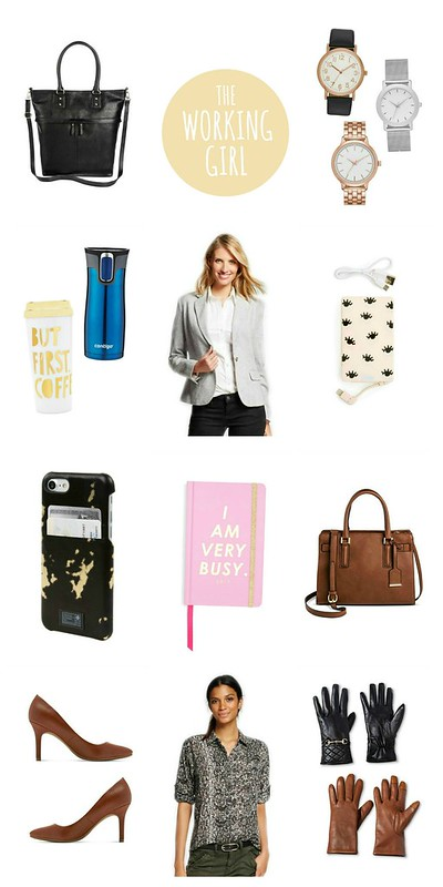 gift guide for the working girl 2016; Style On Target blog
