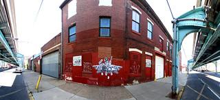 Front street x master street fishtown philadelphia for Fish town philadelphia