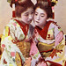 Two Young Geisha with Cricket Cage Hairpins 1887