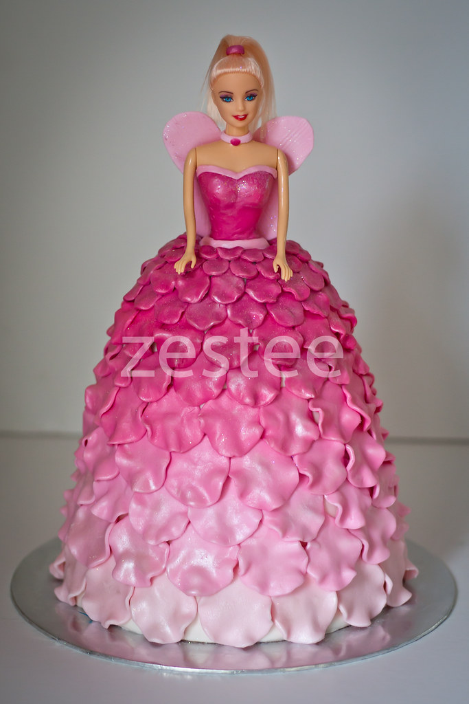 Fairy Princess Matilda Cake My Third Cake In The Past