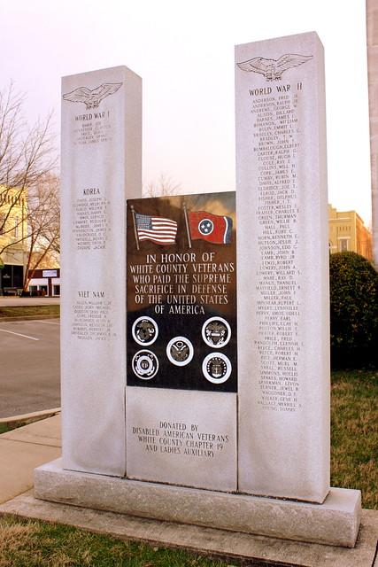 White County War Memorial - Sparta, TN