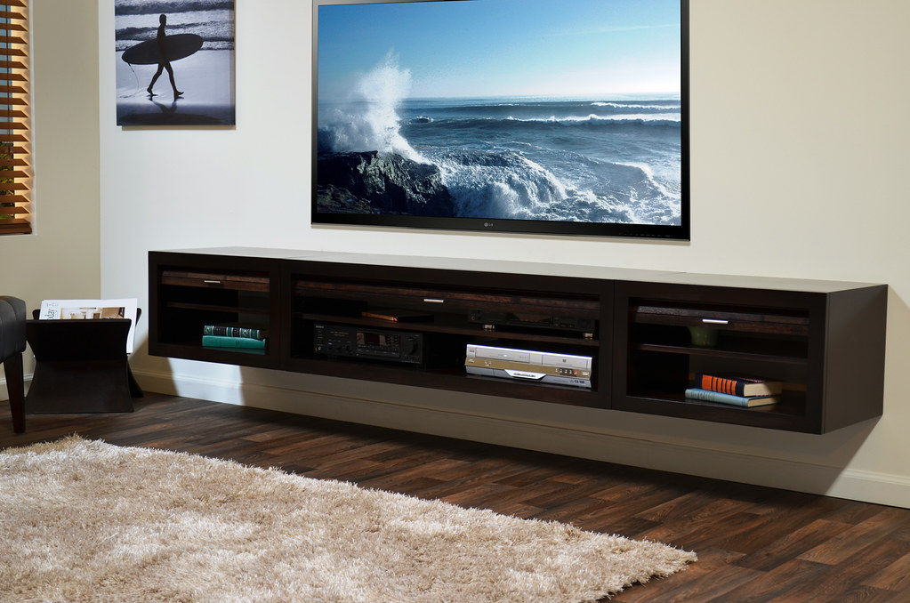 Wall Mounted Media Stand Eco Geo Entertainment Center Espr