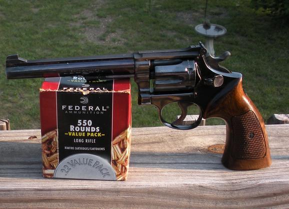 First Wheel Gun    Thinking  22lr [Archive] - The Firing