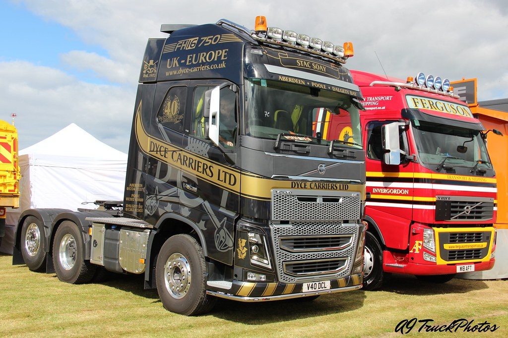 Dyce Carriers Volvo FH16 750 | Black Isle Show 2013 | A9 Truck Photo's | Flickr