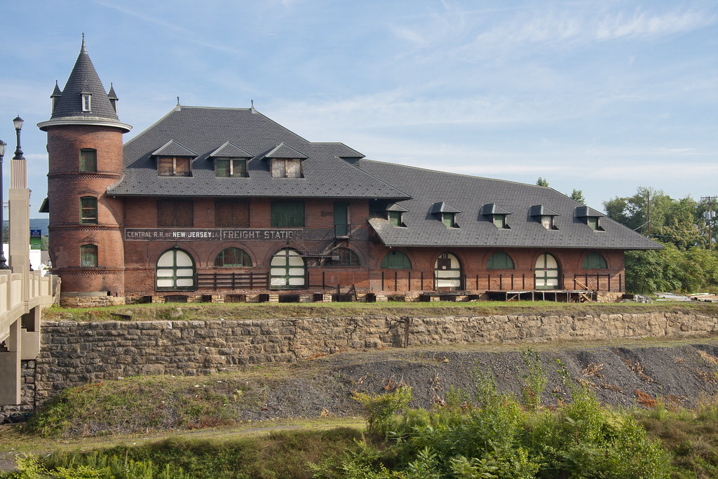 Central Railroad Of New Jersey Freight Station Scranton Pa