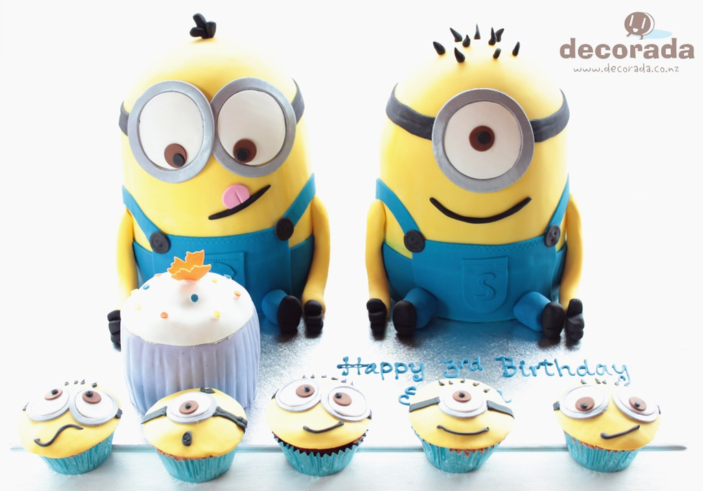 Despicable Me Minions Cake Pan