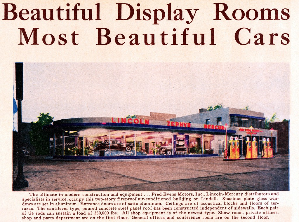 Fred Evens Motors Inc Lincoln Mercury St Louis Mo 194