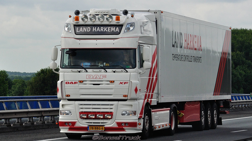 NL  Land Harkema DAF XF 105 SSC  BonsaiTruck  Flickr