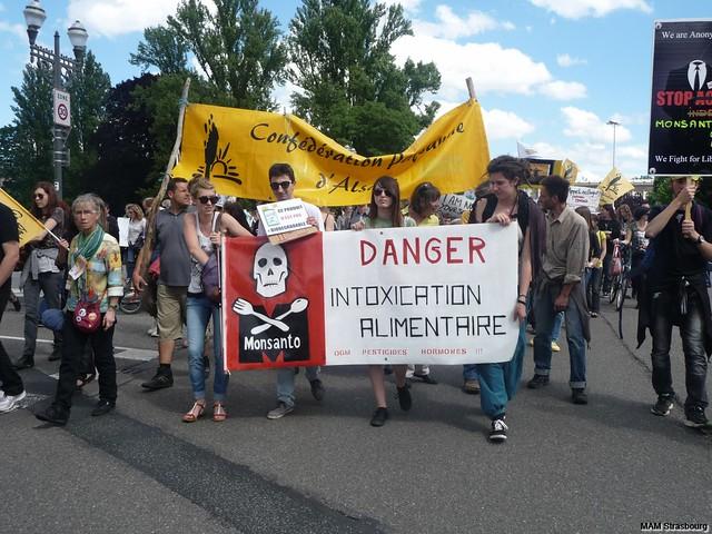 Marche contre MONSANTO Strasbourg 2014