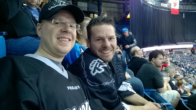 Edmonton Rush 2015 Western Final