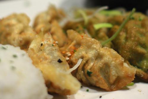 Gyoza @ Tezukuri sushi