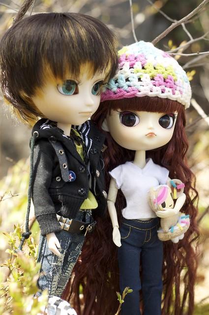 Such a cute little couple