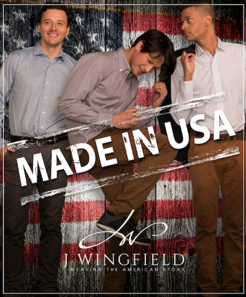 The J Wingfield Company weaves into its shirts the experience of four generations of American textile engineers