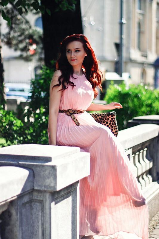 pink maxi dress4