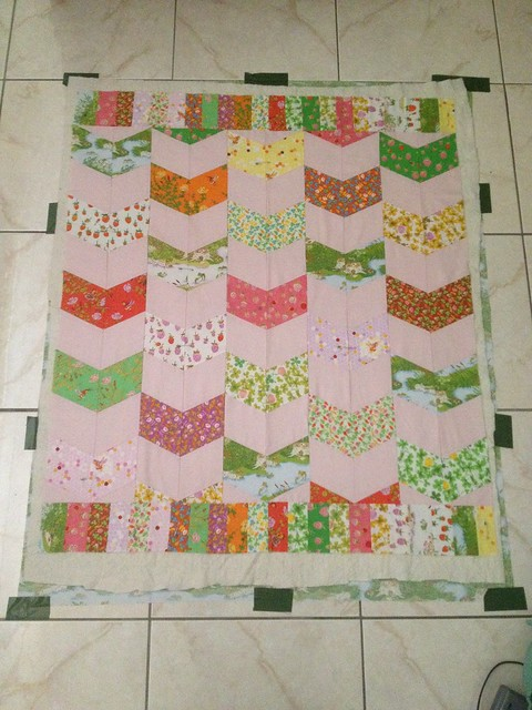 Briar Rose Baby Quilt