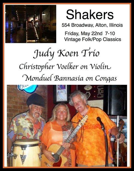 Judy Koen Trio 5-22-15