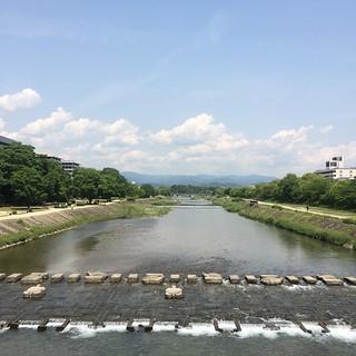 今日の鴨川(パクリ) #kyokamo