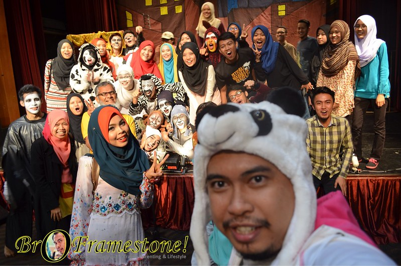 Pementasan Teater Cinta Sang Arnab & Teater Mahkamah Lorong oleh Tronoh Theatre Shop