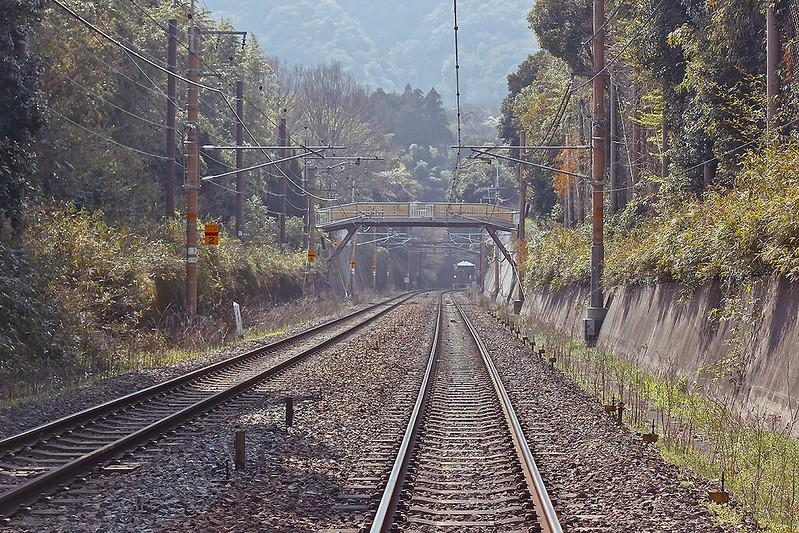 train line kyoto tenryuji ukyo-ku
