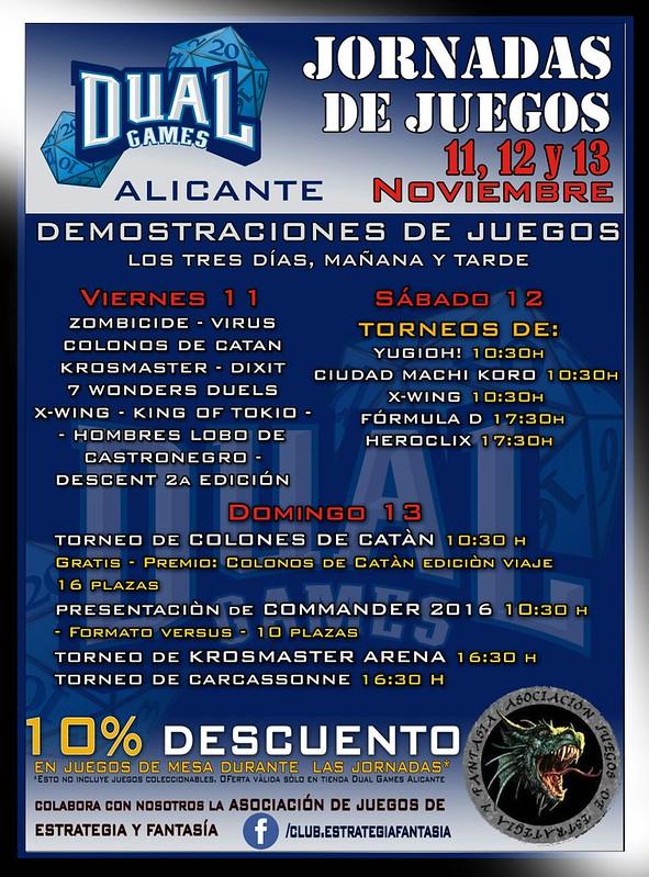 Jornadas de juegos  11,12 y 13 Noviembre - Alicante 30208239334_03462aa0c7_c