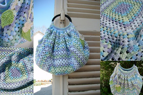 Granny bag / sac boule | by Mam'zelle Flo