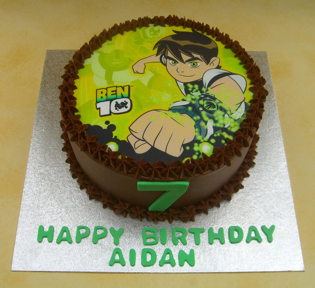 Ben  Birthday Cake Images