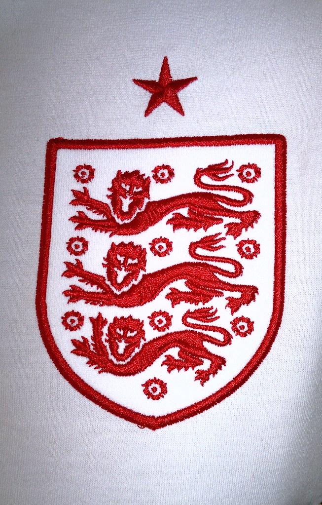 England Home Shirt 2012 2014 Emblem The Emblem Of The