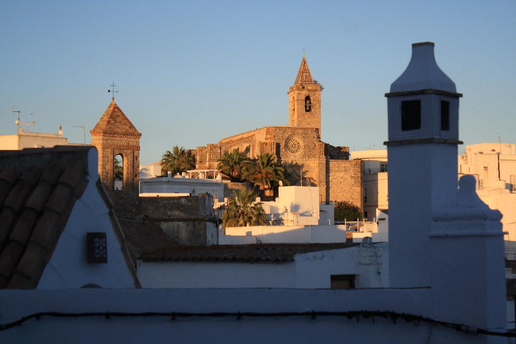 Vejer de la Frontera. Vista de la Iglesia de El Salvador