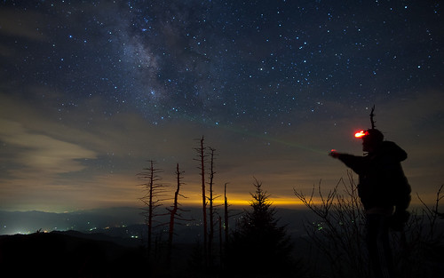 Signal to Sagittarius (Light painting the Milky Way) | by Star Mountain Media
