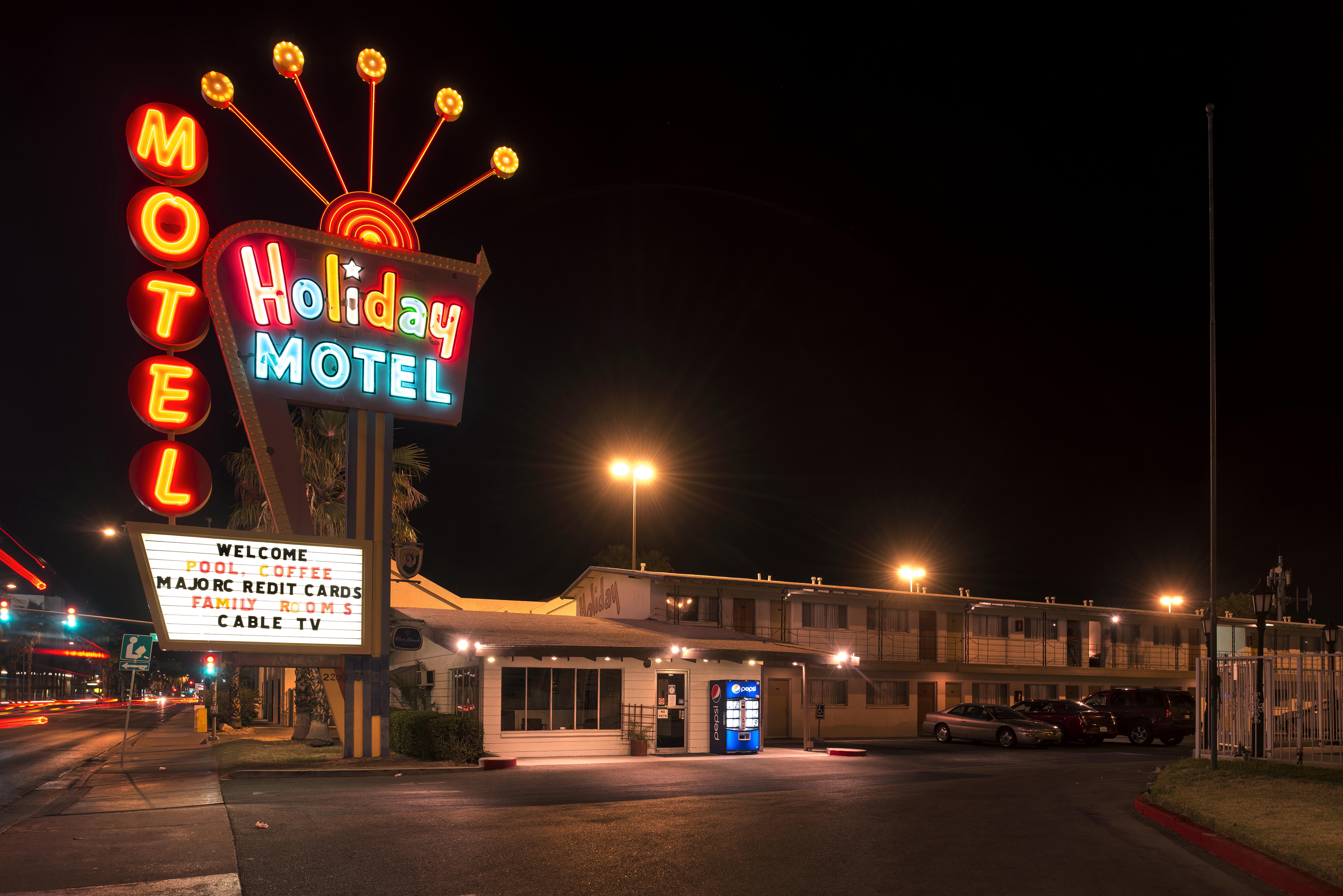 Holiday Motel - 2211 South Las Vegas Boulevard, Las Vegas, Nevada U.S.A. - May 14, 2013