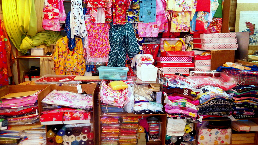 Dress yourself in something fabulous while you're visiting Japan on this 2-hour kimono shopping tour. Join your kimono expert as you comb the numerous recycled kimono stores of Tokyo, searching for the perfect fabric and fit that's right for you.